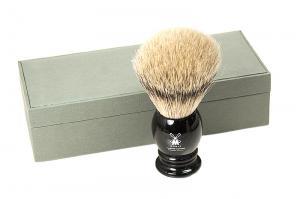 Кисточка-помазок для бритья, высококачественная щетина барсука 95 K 256
