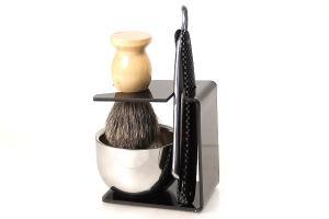 Набор для бритья опасной бритвой ( 4 предмета )