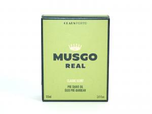 Musgo Real Classic Масло для гладкого бритья, смягчает и увлажняет кожу лица 100мл