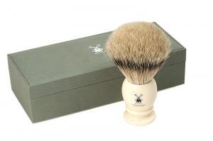 Кисточка-помазок для бритья, высококачественная щетина барсука 95 K 257