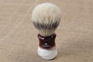 Кисточка-помазок для бритья, конский ворс, акрил 13061